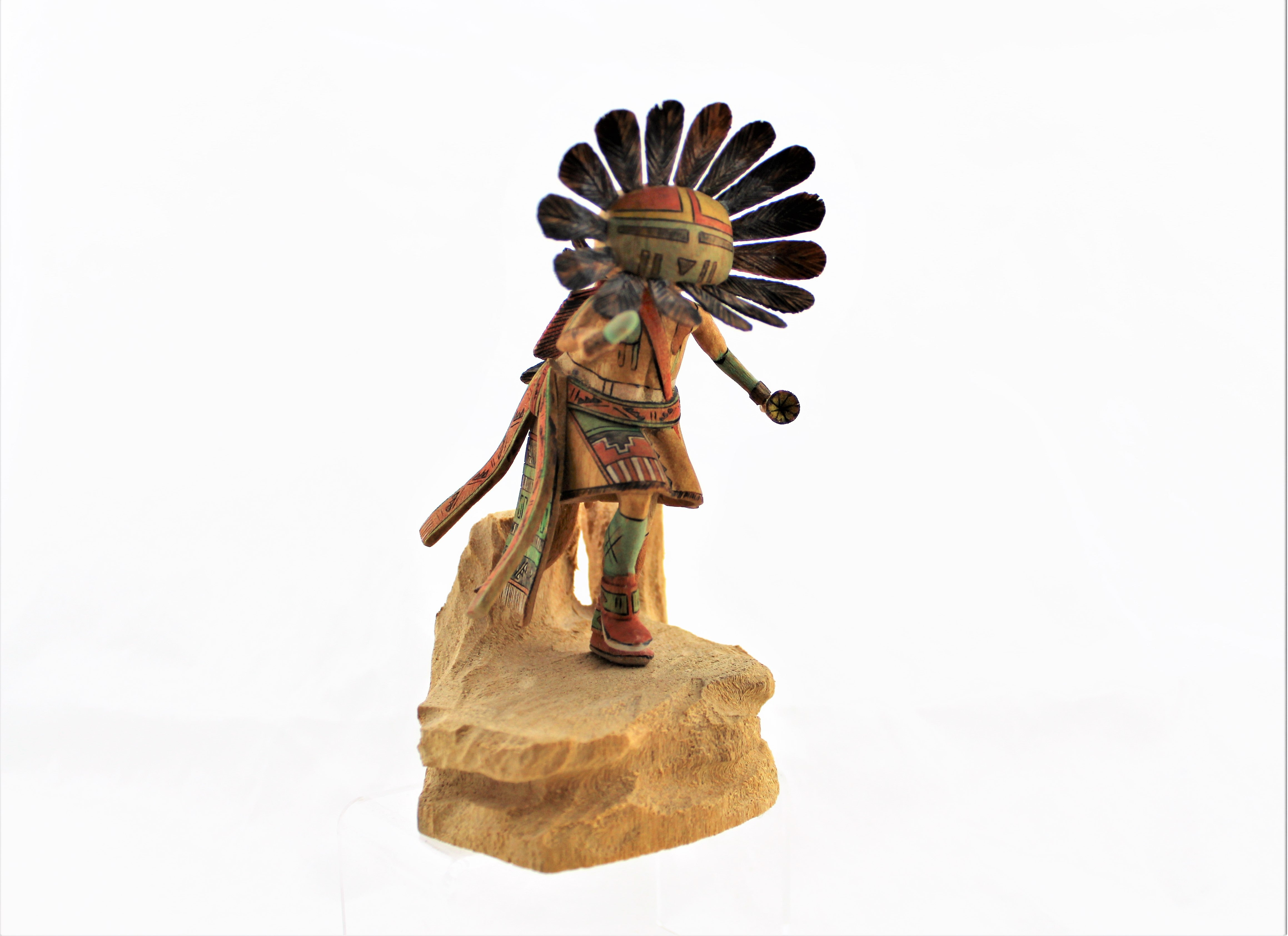 Coolidge Roy Jr. Sun Face Kachina