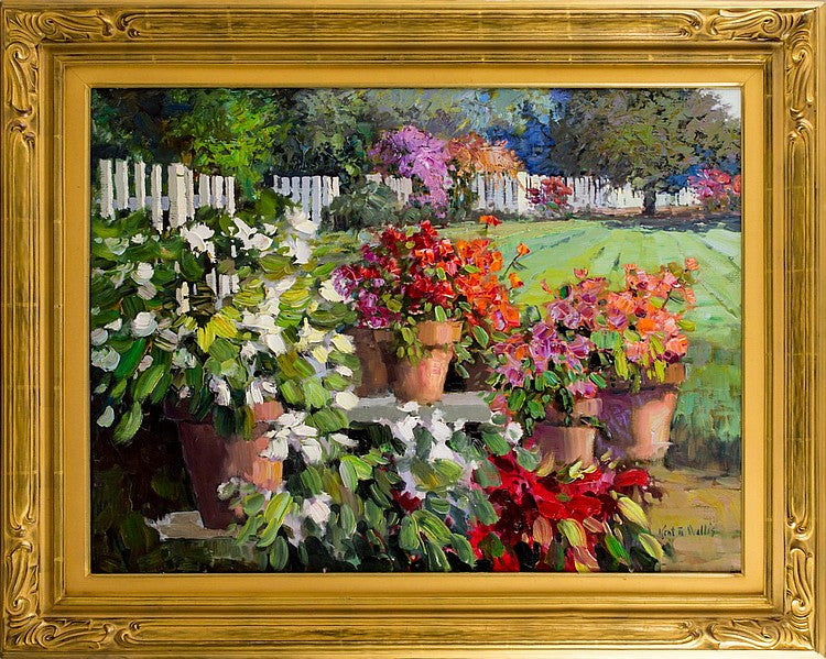 Kent Wallis Original Oil Painting