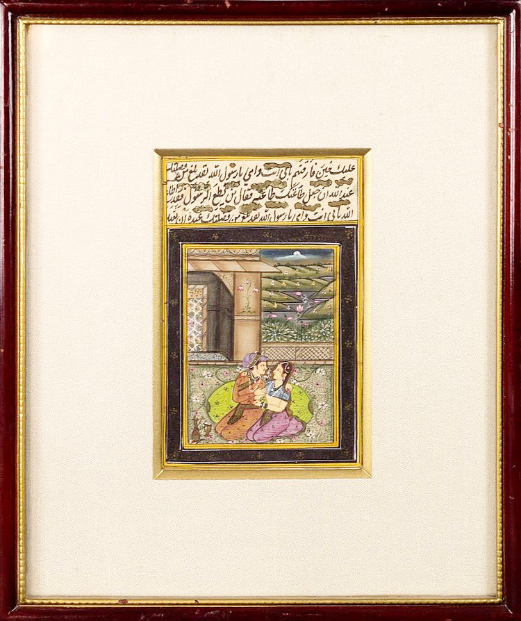 Antique Miniature Indian Painting