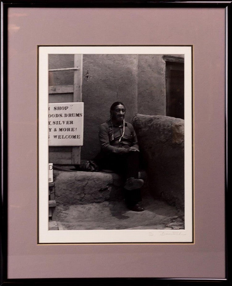 Native American Man Photograph