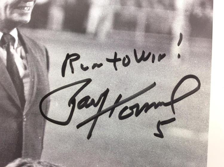 Paul Hornung Signed Green Bay Packers Photo