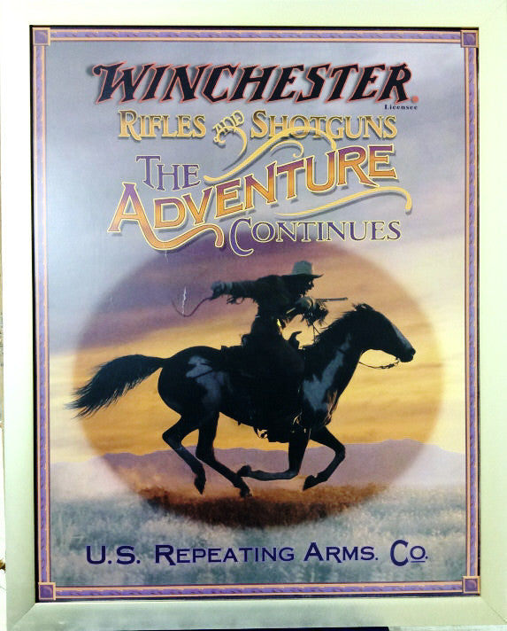 Winchester Rifles & Shotguns Advertising Print
