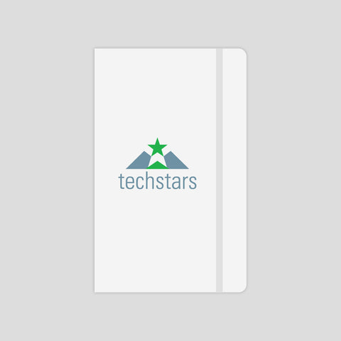Techstars White Moleskine® Journal