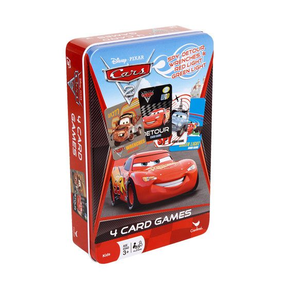 Disney Pixar Cars 2 - Four Card Game Tin | Koop.co.nz