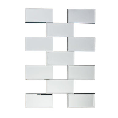Wall Mirror Origami Wall Mirror (70cm) *SECONDS | Koop.co.nz