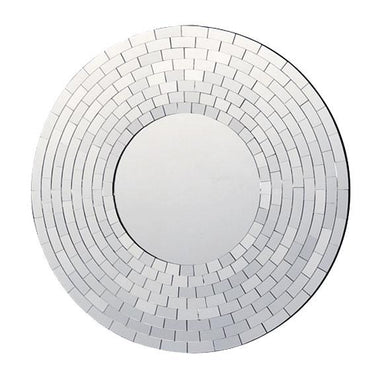Wall Mirror Fusion Round Tiled Wall Mirror (60cm) | Koop.co.nz