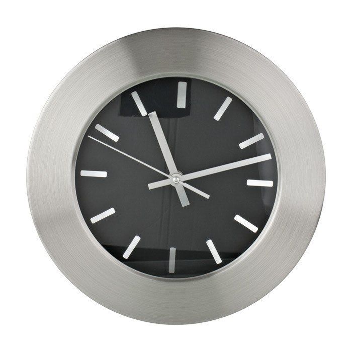 Wall Clock Moderno Design Wall Clock (25.5cm) | Koop.co.nz