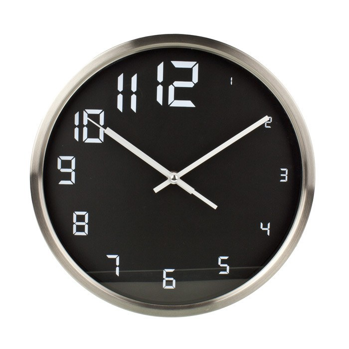 Wall Clock Little Big Stylish Wall Clock (30cm) | Koop.co.nz