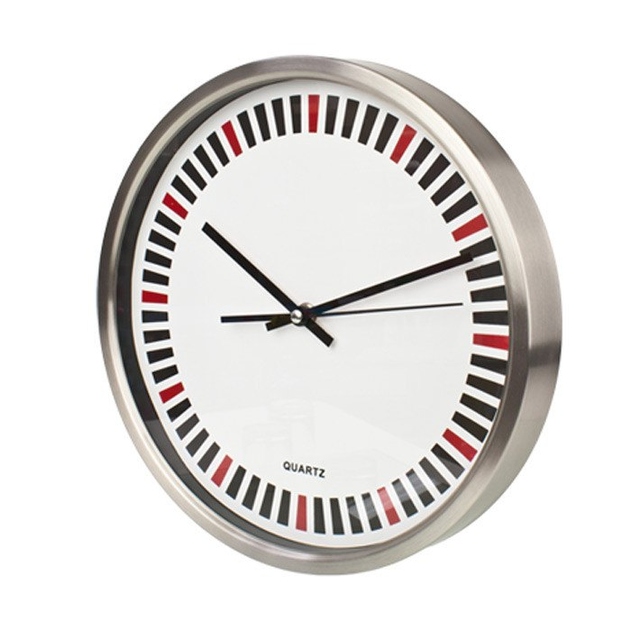 Wall Clock Roulette Design Wall Clock (30cm) | Koop.co.nz