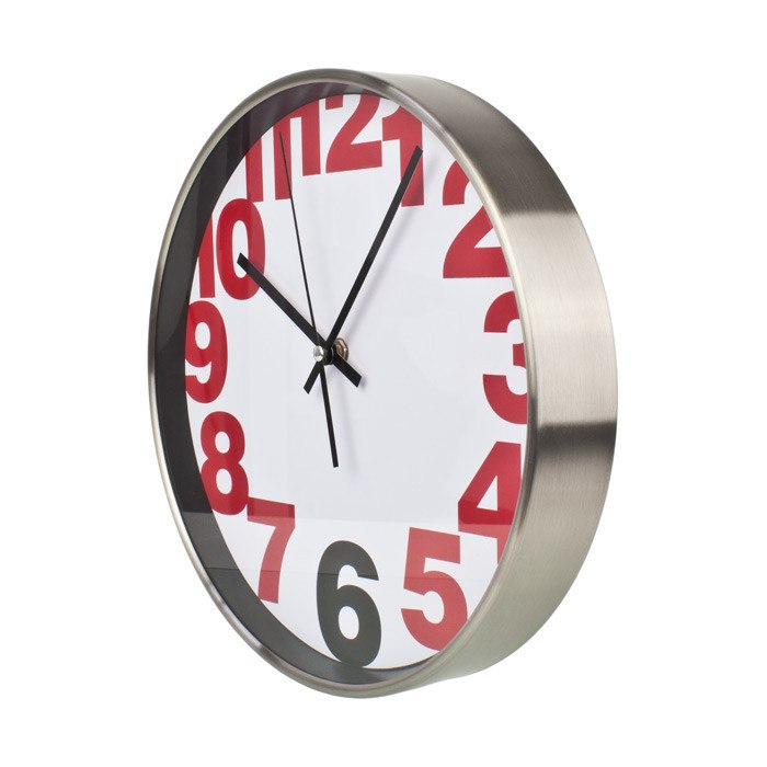 Wall Clock After Six Stylish Wall Clock (30cm) | Koop.co.nz