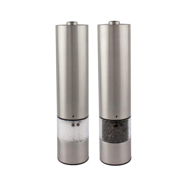 Electric Salt & Pepper Grinder with Light | Koop.co.nz