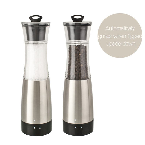 Gravity Electric Salt & Pepper Grinder | Koop.co.nz