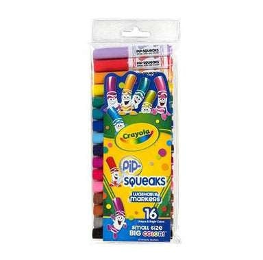 Crayola Pip-Squeak Washable Markers (16pc) | Koop.co.nz