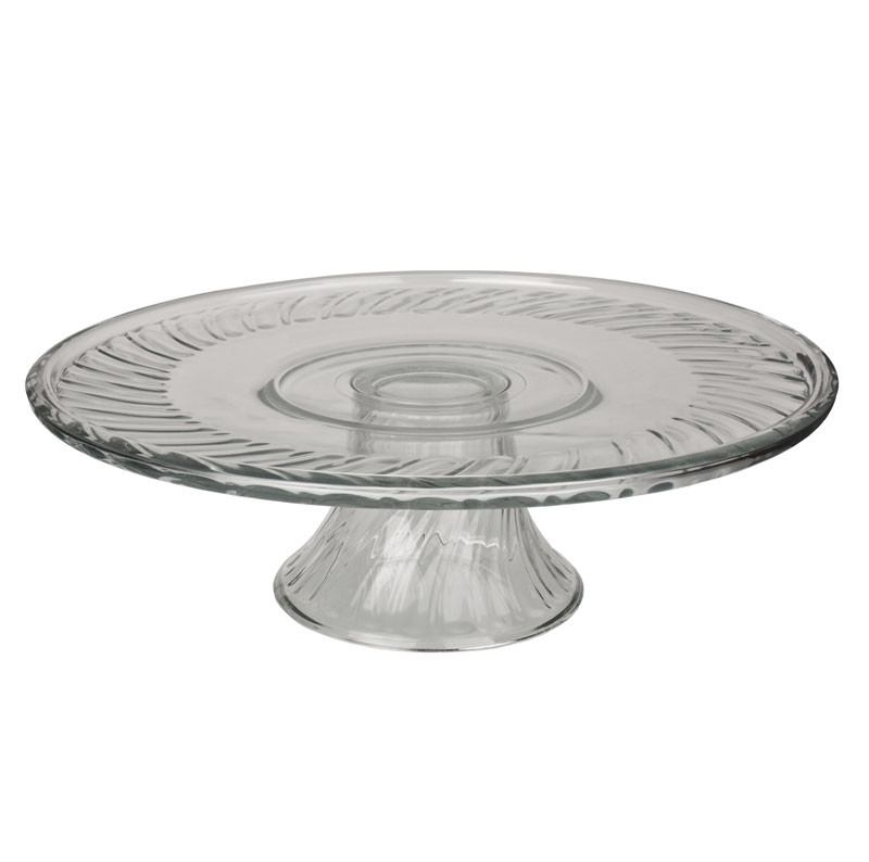 Libbey Pasterlero Glass Cake Plate | Koop.co.nz
