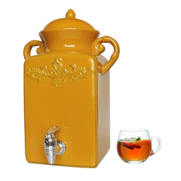 Tuscan Gold Beverage Dispenser | Koop.co.nz