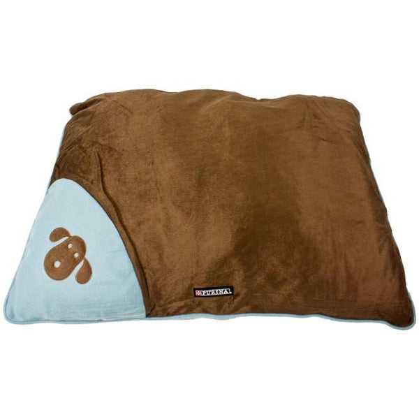 Purina Large Pooch Pad - Chocolate/Blue | Koop.co.nz