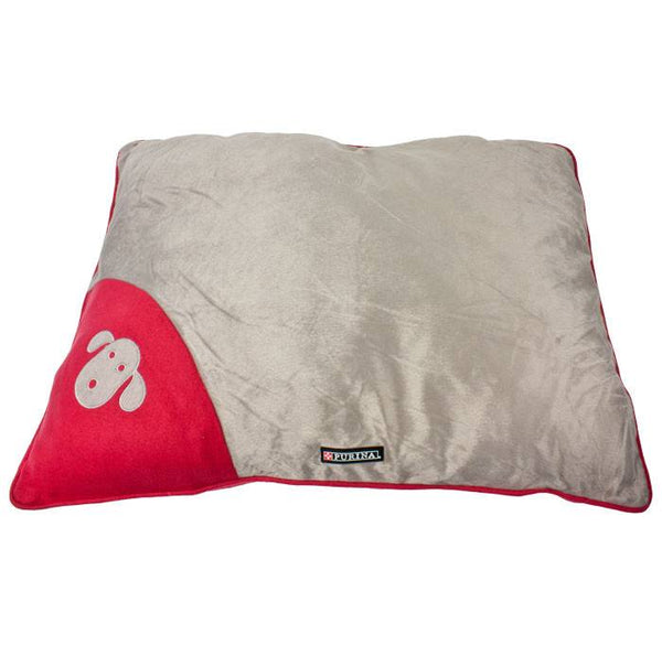 Purina Large Pooch Pad - Grey/Red | Koop.co.nz