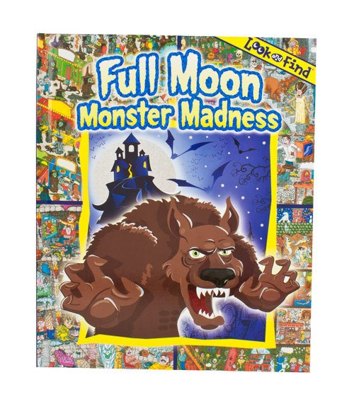 Look & Find Full Moon Monster Madness | Koop.co.nz