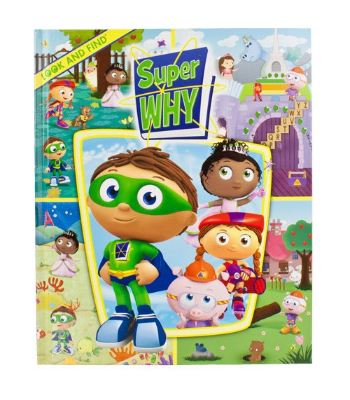 Look & Find Super Why | Koop.co.nz