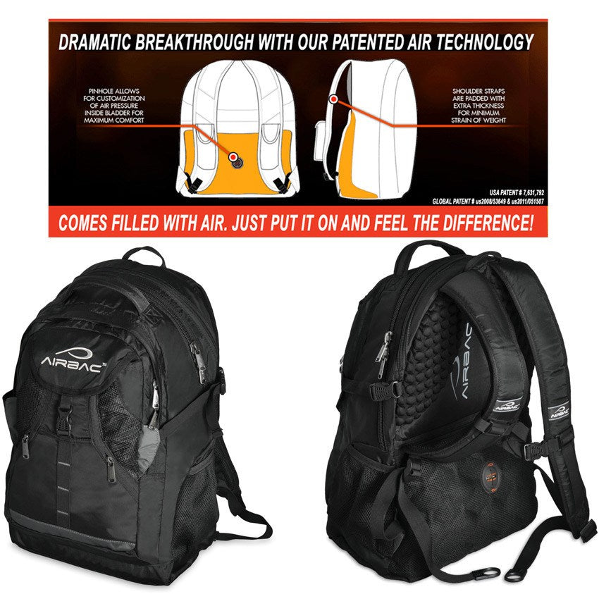 Airbak Air Tech Notebook Backpack | Koop.co.nz