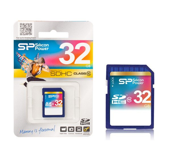 Silicon Power 32GB SDHC Memory Card - Class 10 | Koop.co.nz