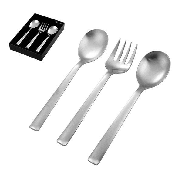 Robert Welch Merit Satin Serving Set (3pc) | Koop.co.nz