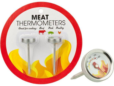Best Brands Meat Thermometers (2pk) | Koop.co.nz