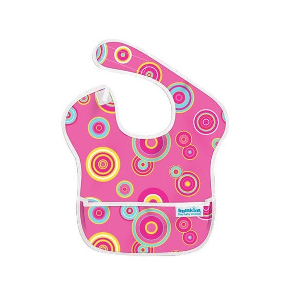 Bumkins Waterproof SuperBib - Pink Fizz | Koop.co.nz