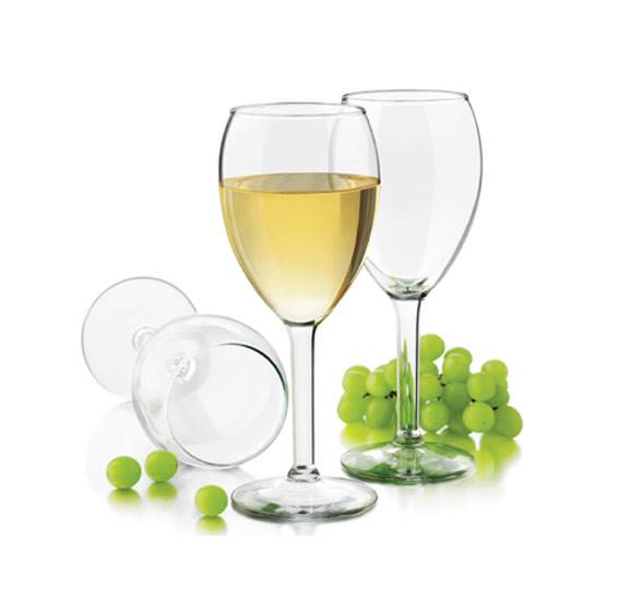 Libbey Preston White Wine Glasses (4pc) | Koop.co.nz