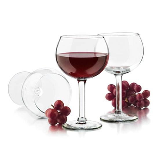 Libbey Preston Red Wine Glasses (4pc) | Koop.co.nz