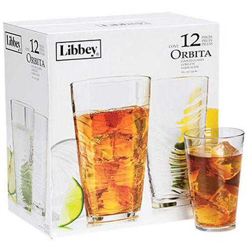 Libbey Orbita Cooler Glasses (12pc) | Koop.co.nz