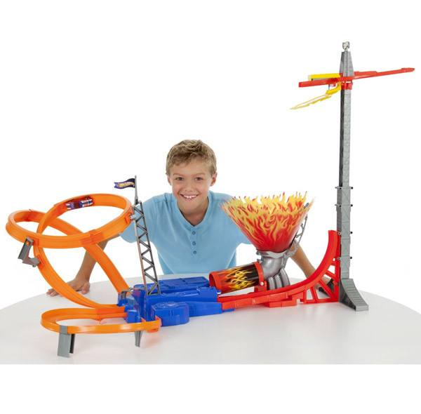 Hot Wheels Sky Jump Track Set | Koop.co.nz