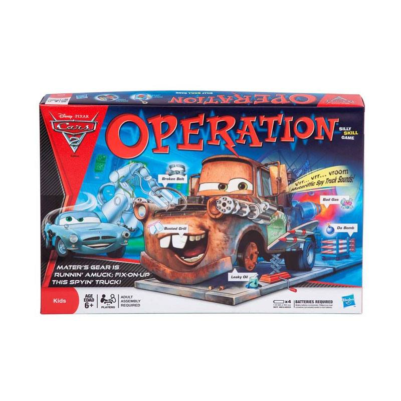 Hasbro Operation Game - Cars 2 | Koop.co.nz