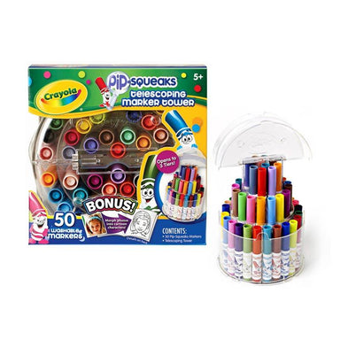 Crayola Pip-Squeak Telescoping Marker Tower | Koop.co.nz