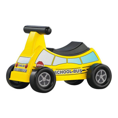 American Plastic Kids Ride-On - School Bus | Koop.co.nz