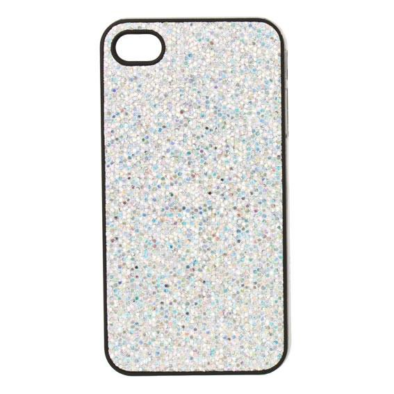 Sparkle iPhone Case - Silver | Koop.co.nz