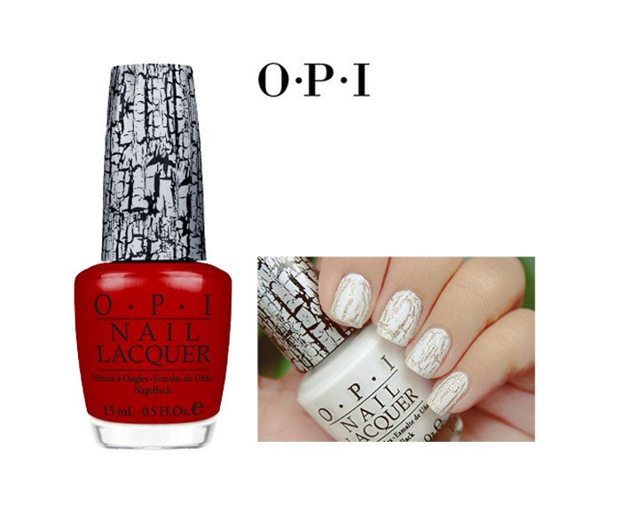 O.P.I Shatter Nail Lacquer - Red | Koop.co.nz