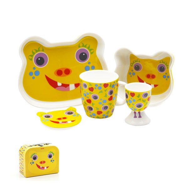 Maxwell & Williams Tickle Monster 5pc Dining Set - Eeter | Koop.co.nz