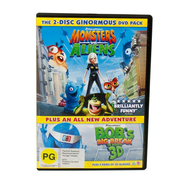 DVD 2-Disc Monster DVD | Koop.co.nz