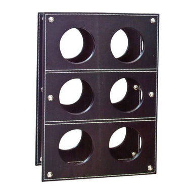 Mode Faux Leather Wine Rack | Koop.co.nz