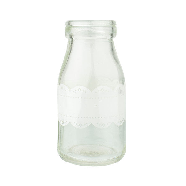 Pixie Party Mini Milk Bottle - Lace | Koop.co.nz