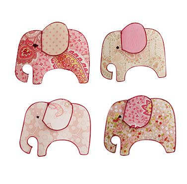 Tiger Tribe Single String Mobile - Pink Elephant | Koop.co.nz