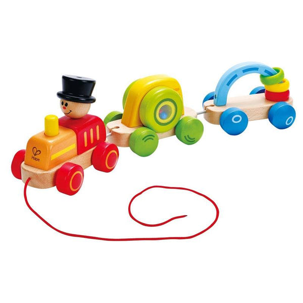 Hape Triple Play Train | Koop.co.nz