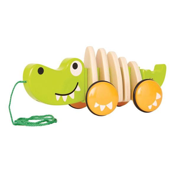 Hape Walk Along Crocodile | Koop.co.nz