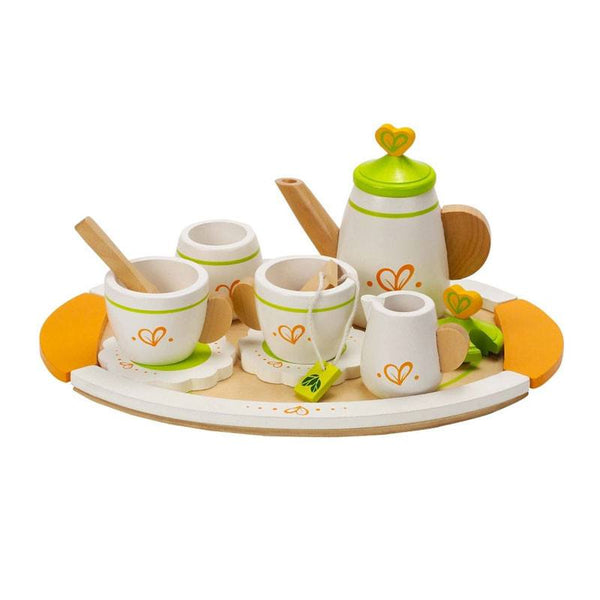 Hape Tea Set For Two (12pc) | Koop.co.nz
