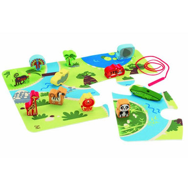 Hape On Safari Play Set (24pc) | Koop.co.nz