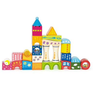 Hape Fantasia Castle Blocks (26pc) | Koop.co.nz
