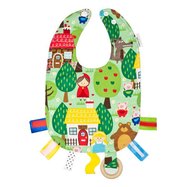 Elephant Ollie Teething Bib - Into The Forest | Koop.co.nz