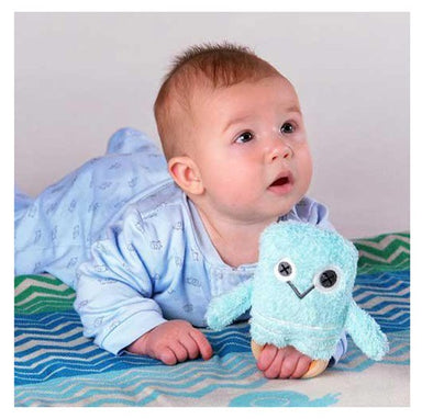 O.B Designs Ding A Ring Teether Rattle - Bernie Bird | Koop.co.nz