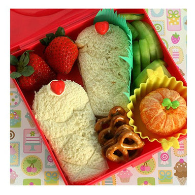 Lunch Punch Sandwich Cutters - Sweet (4pc) | Koop.co.nz
